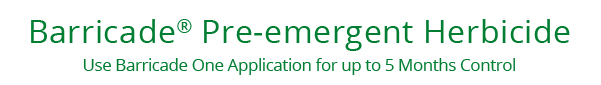 Barricade® Pre-emergent Herbicide