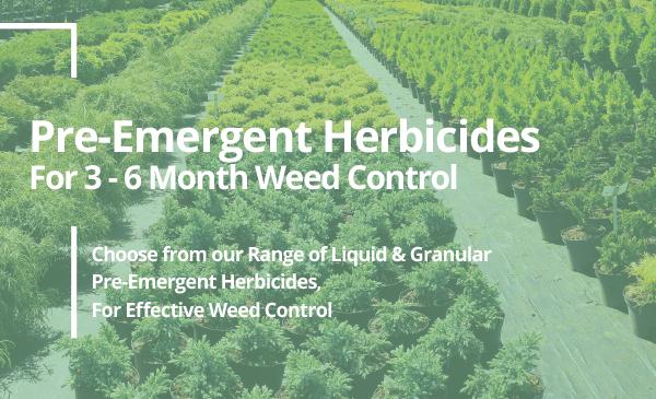 Visit GCP's Range of Pre-Emergent Herbicides