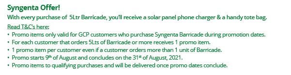 Syngenta Offer T&C's